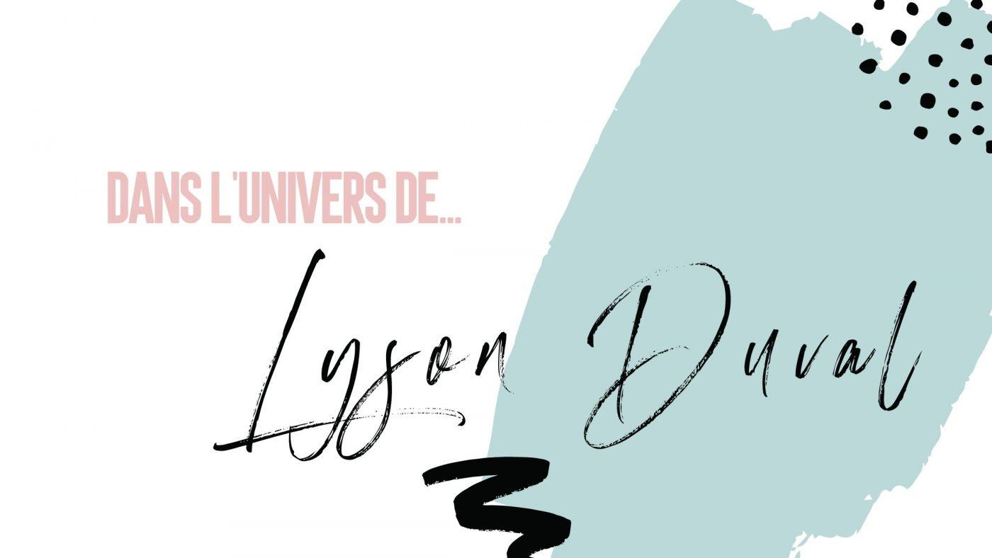 Cover Lyson Duval
