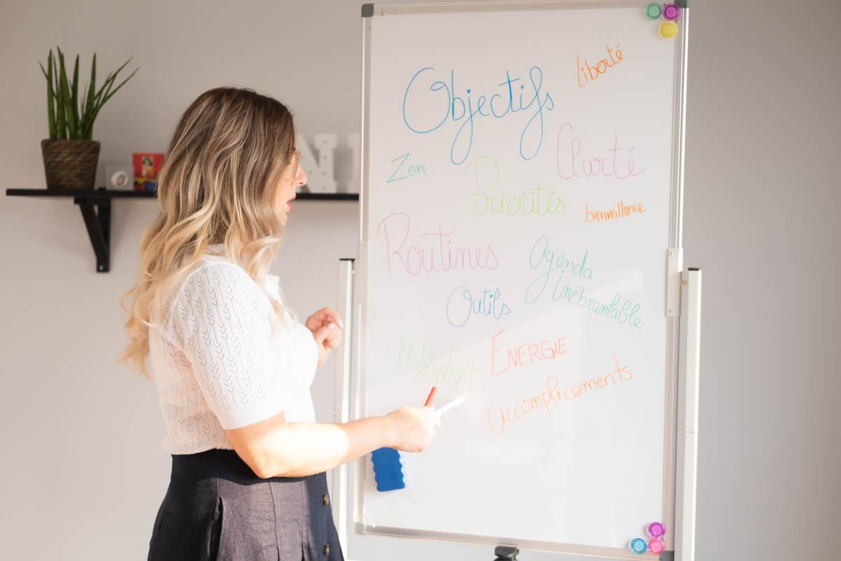 Entrepreneur portrait educatif