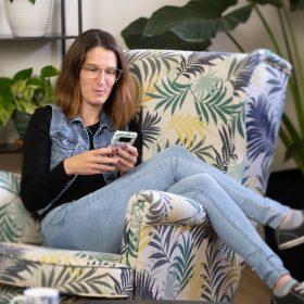 Julie Rochon, visibilité web