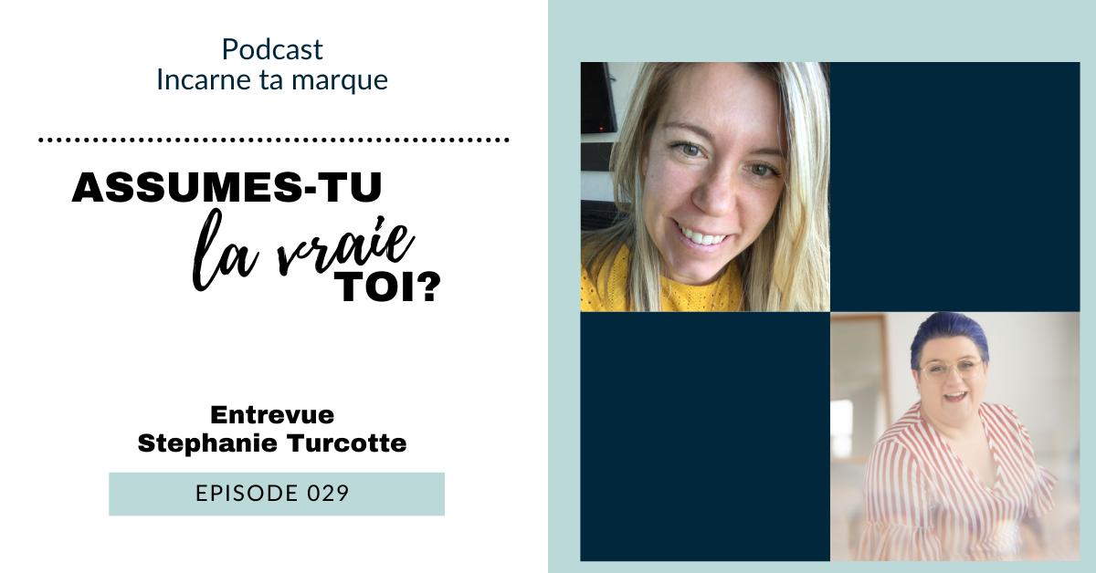 Couverture de podcast - Stephanie Turcotte