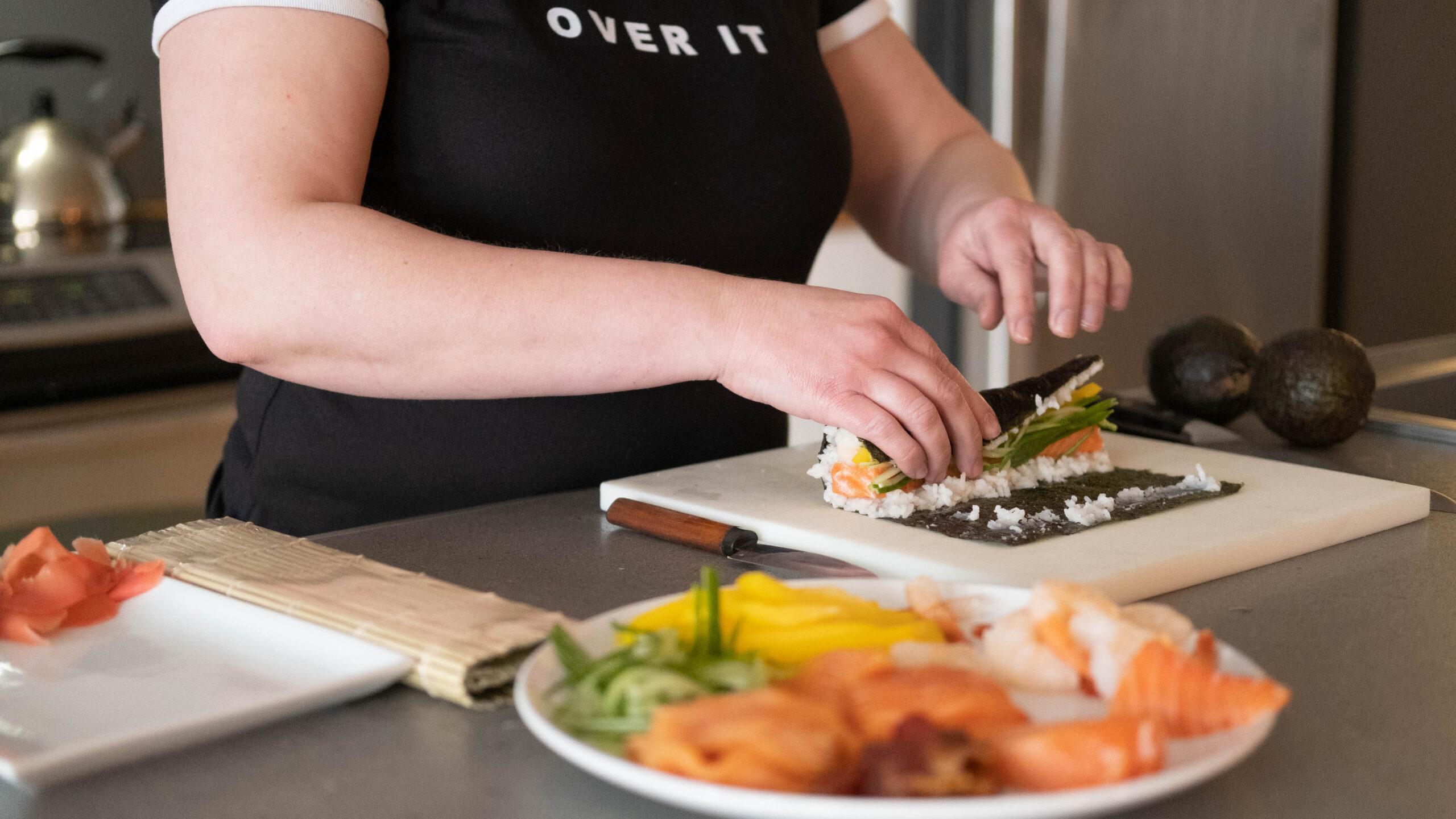 Maryse belley, sushi maniak entrepreneur