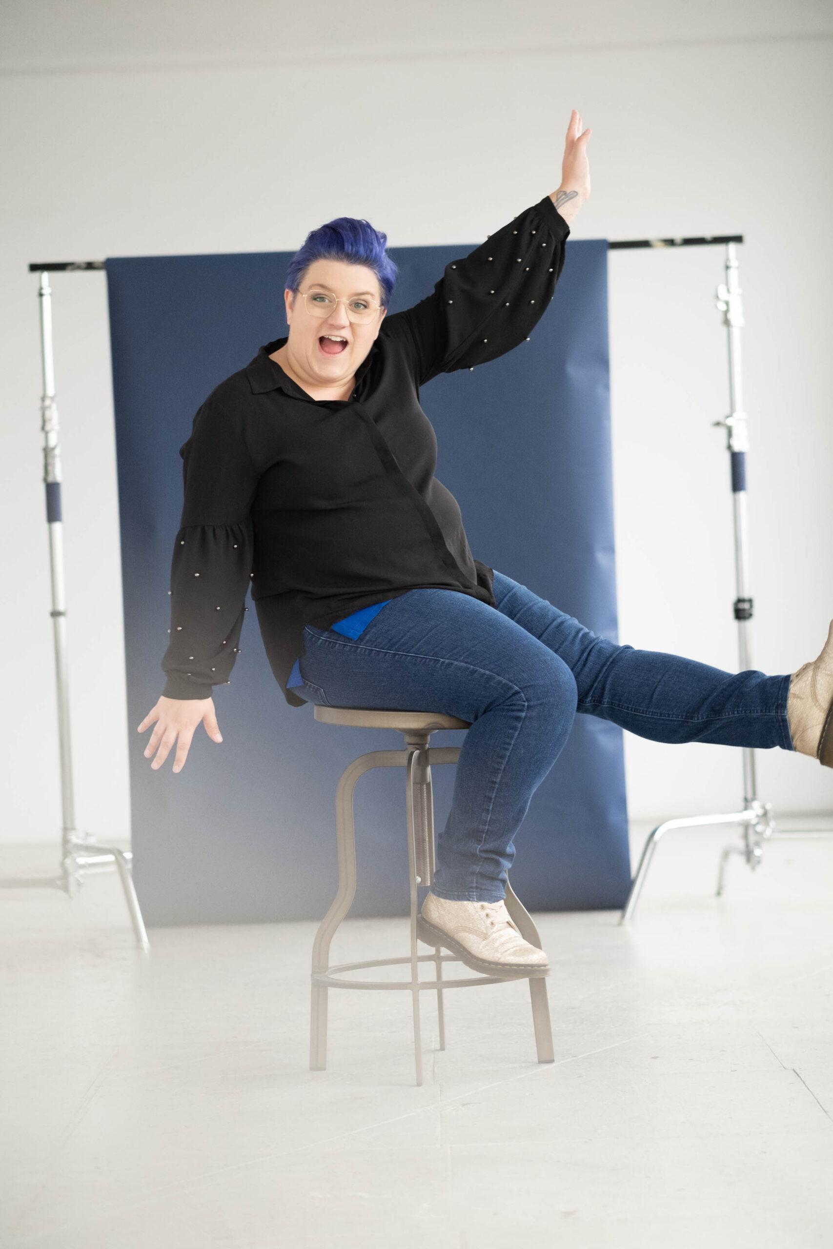 Photo de photographe, portrait entrepreneur