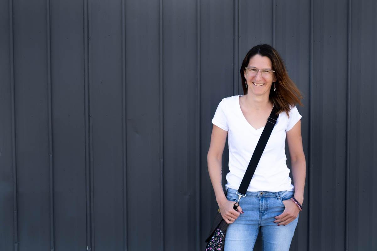 Julie Rochon, portrait entrepreneur visibilité web