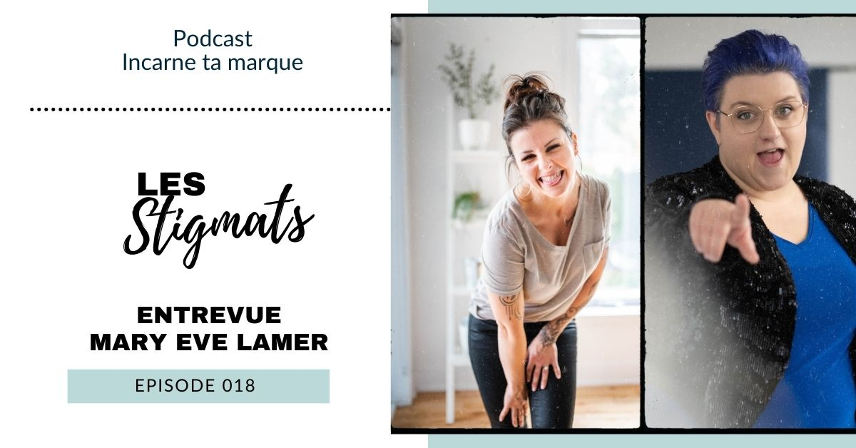 couverture podcast - mary eve lamer